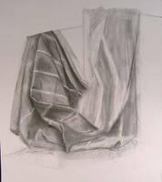 Drapery study striped by ShellzArt