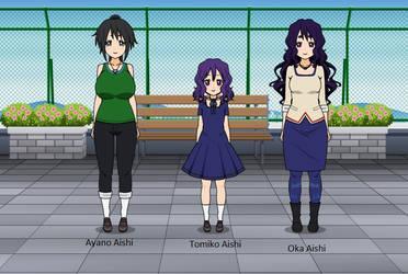 Ayano x Oka Ruto Family by Mysticlove23