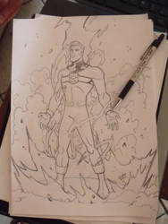 Marvelman/Miracleman WIP by madedd