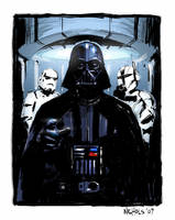 Darth Vader - Star Wars by FlowComa