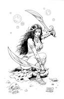 Dejah Thoris by FlowComa