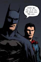 Batman_Superman 2 by FlowComa