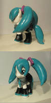Miku Pony With Skirt by Amandkyo-Su
