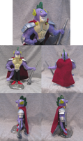 Sculpted Epic Hero Spike by Amandkyo-Su