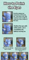 My Little Pony Custom Guide - The Eyes by Amandkyo-Su