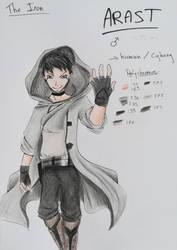 Character design : Arast by LaPetiteUsagi