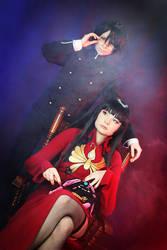 Yuuko and Watanuki by HonnoriVanilla