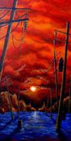 Sunset by MoPad