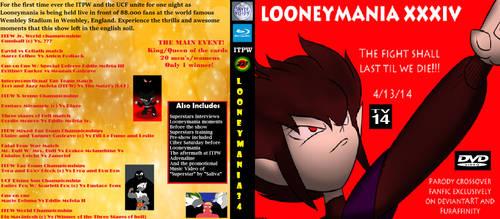 Looneymania 34 Home Video Cover by carminesavastano