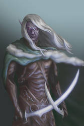 Drizzt Do'Urden by themimig