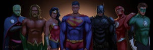 justice league by themimig