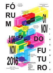 Graphic Design: Poster for forum do futuro 2016 by NotsoSavageMic