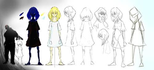 Freedom Short Animation- Concept Art- Girl by NotsoSavageMic