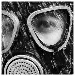 Saying good bye - Acid rain by newjerseydigital