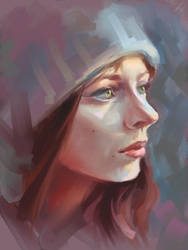first time in Corel Painter.... by PieroLorenzo