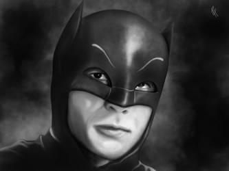 Adam West is Batman by HenryTownsend