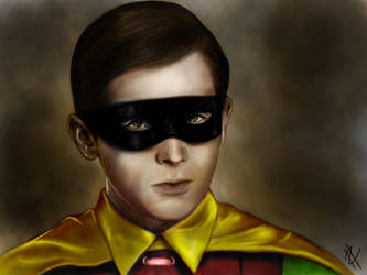 Burt Ward is Robin by HenryTownsend