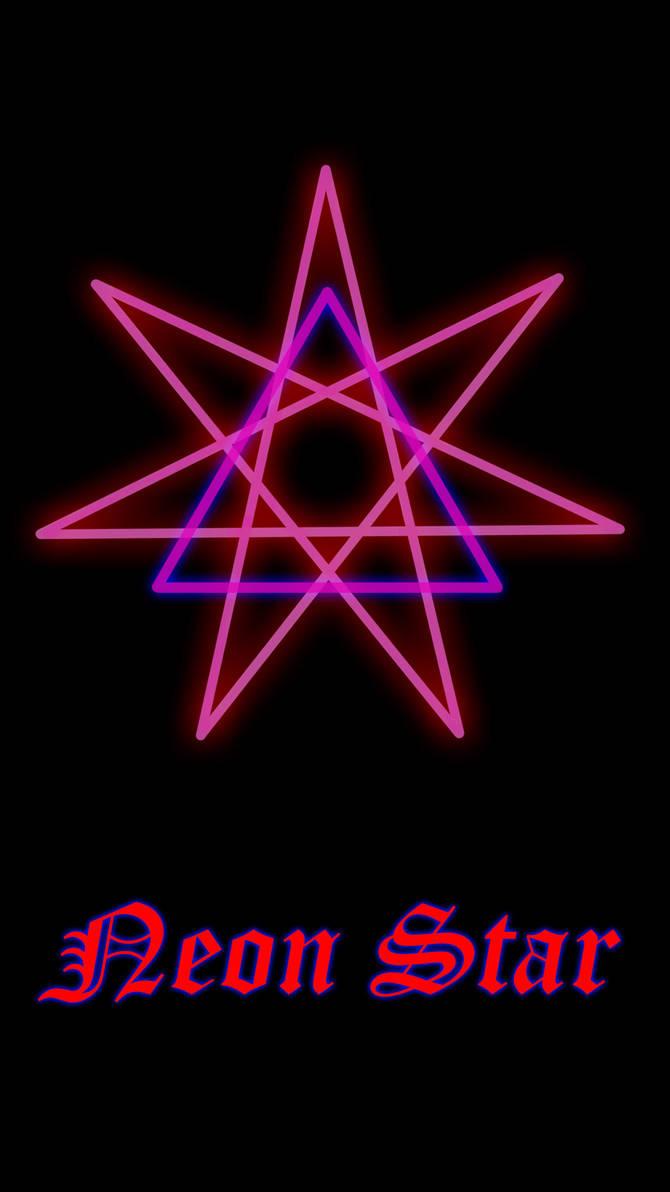 Neon star by paulodjunior