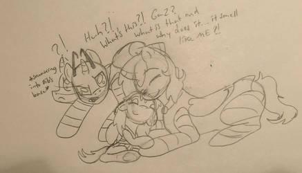 Pony Town Invader Zim- Mama Gaz by Kabuki-Sohma