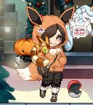 Gaia- Eevee themed trainer by Kabuki-Sohma