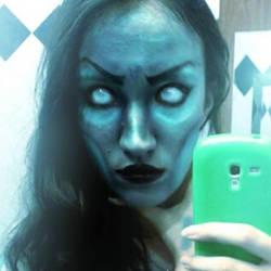 Kalista Makeup League Of Legends by hillasaur