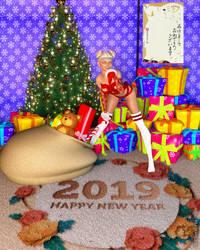 Happy New Year 2019 by MrTibetanFox