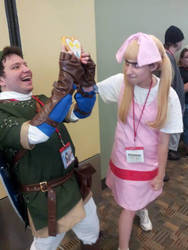 Link took the wrong piece of heart by HaliaCosplay