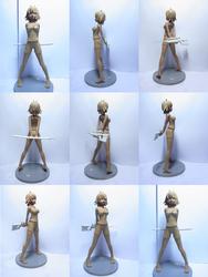 Rei - Clay Version Figurine by SwordsofEdo