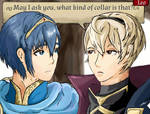 Leo and Marth- Support by MarthSweetie