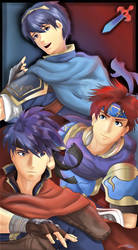 The Fire Emblem Smash Triforce by MarthSweetie