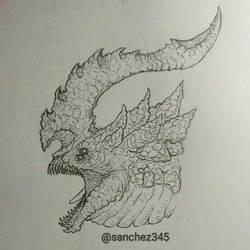 Monster Bust by Sanchez15