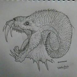 Creature Head by Sanchez15