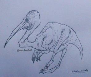 Stork Raptor by Sanchez15