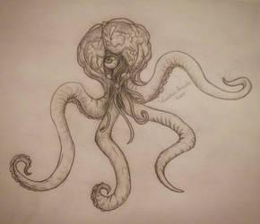 Metroid Octopus by Sanchez15