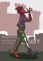 SHINYFICATION: And she thinks he's made of candy by nequ