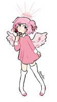 Natsuki angel by awhes