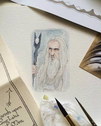 Saruman the White by Earendiel
