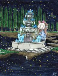 Crystal fountain by Ruta996