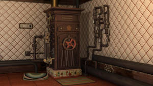 Soviet Steampunk Boiler 2 by melsikay