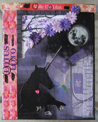 Unicorn collage by LyciaStorm