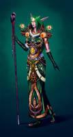 Night Elf Druid by Willborg