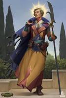 Pathfinder: Kingmaker - Aasimar Priest by AKIMBLYA