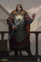 Pathfinder: Kingmaker - King Irovetti by AKIMBLYA