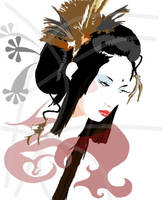 geisha by Subaru21