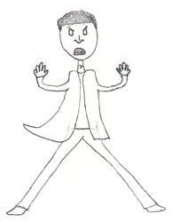 Angry Michael by internetotaku