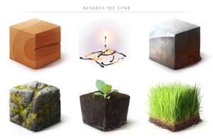 Material Study II by AlsaresLynx