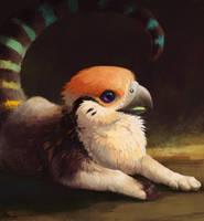 [Commission] bird-headed by AlsaresLynx