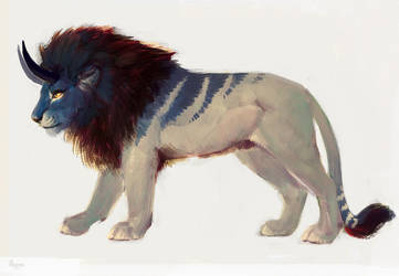[Sold] Adoption Lion by AlsaresLynx