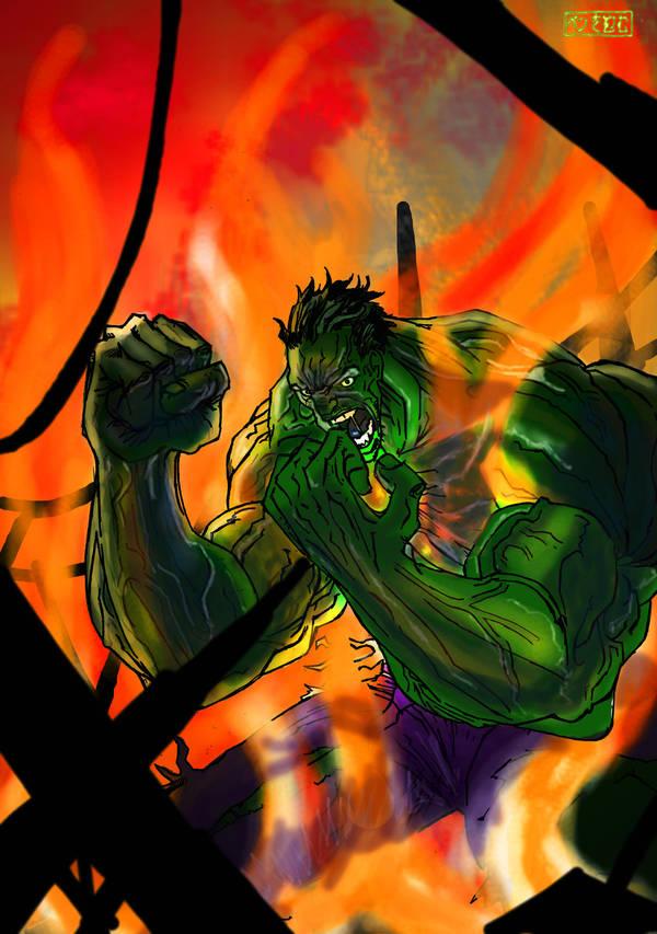 Hulk Darklight by Penners
