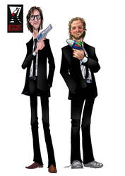 Dan and Steve (Agents of change) by Penners